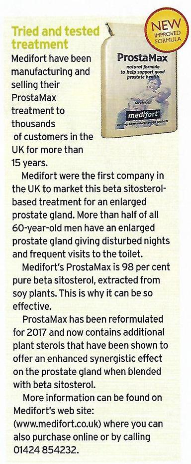 ProstaMax Choice magazine article
